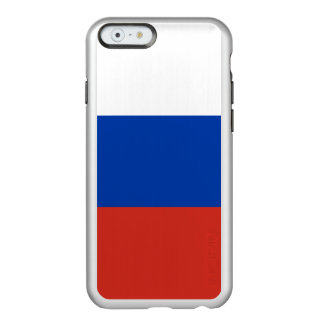 Russland-Flagge Incipio Feather® Shine iPhone 6 Hülle