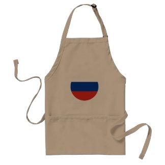 Russland-Flagge Schürze