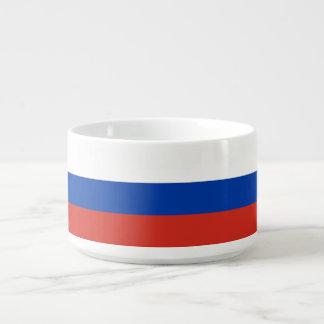 Russland-Flagge Schüssel