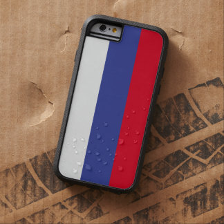 Russland-Flagge Tough Xtreme iPhone 6 Hülle