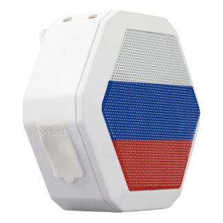 Russland-Flagge Weiße Bluetooth Lautsprecher