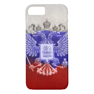 Russland-Flaggen-Farben-Schmutz-Entwurf iPhone 8/7 Hülle