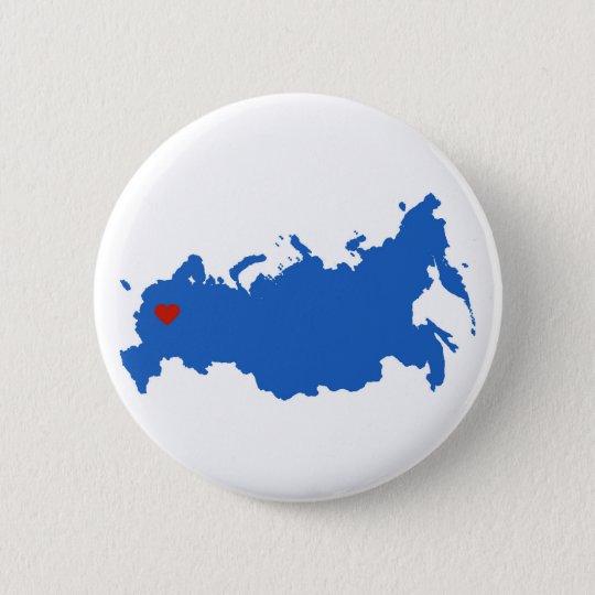 Russland Runder Button 5,7 Cm