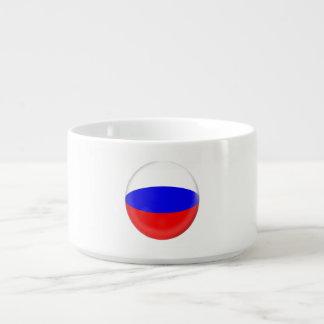 Russland-Russe-Flagge Schüssel