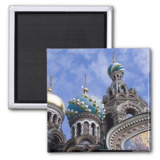 Russland, St. Petersburg, Nevsky Prospekt, die 2 Quadratischer Magnet