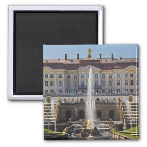 Russland, St Petersburg, Peterhof, großartiger Pal Kühlschrankmagnete