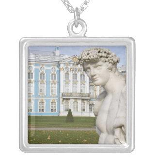 Russland, St. Petersburg, Pushkin, Catherine 3 Versilberte Kette