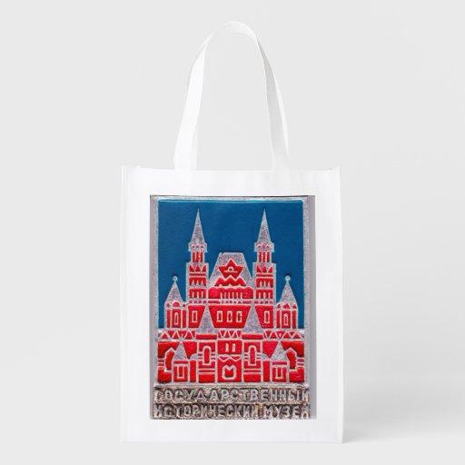 Russland-Staats-Geschichtsmuseum Znachok Einkaufstaschen