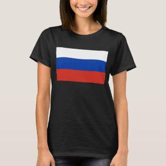 Russland-Weltflagge T-Shirt