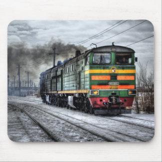 Russland-Zug-Lokomotive Mousepad