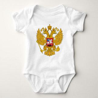 Russland zwei ging Eagle voran Baby Strampler