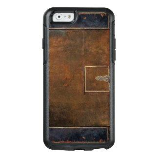 Rustikale Abdeckungs-starkes altes Leder OtterBox iPhone 6/6s Hülle