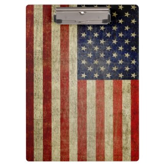 Rustikale amerikanische Flagge