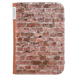 Rustikale Backsteinmauer zünden Kasten an