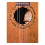 Rustikale Gitarre Personalisierte Flyer