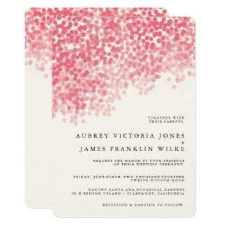 Rustikale Hochzeits-Einladungen der Rosey 12,7 X 17,8 Cm Einladungskarte