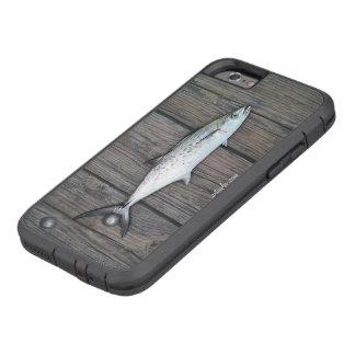 Rustikale hölzerne Fische des sachverständigen Tough Xtreme iPhone 6 Hülle