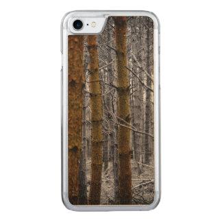 Rustikale Kiefern Carved iPhone 8/7 Hülle