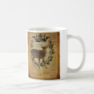 Rustikale Krone Outdoorsman Whitetail-Dollar Kaffeetasse