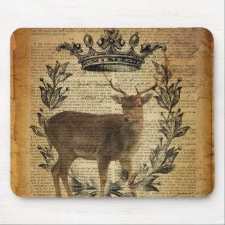 Rustikale Krone Outdoorsman Whitetail-Dollar Mousepad