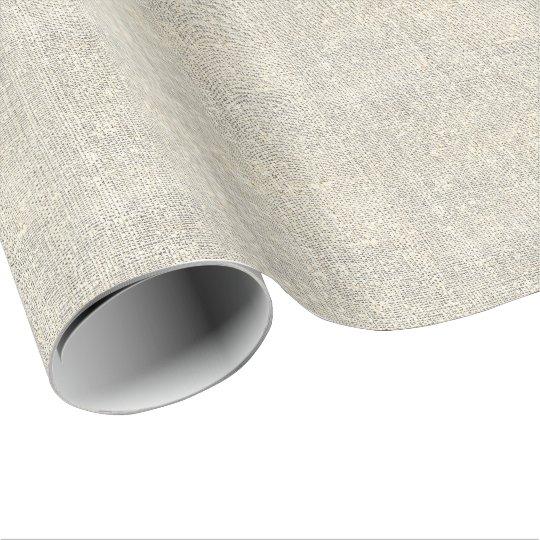 rustikale Landgrauleinwand Einpackpapier