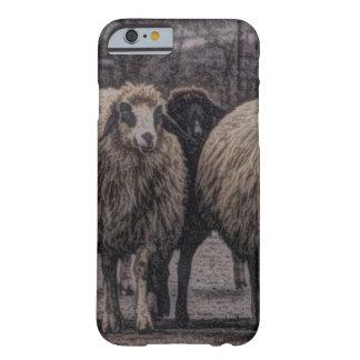 Rustikale Landstraßen-Ranchbauernhofherde der Barely There iPhone 6 Hülle