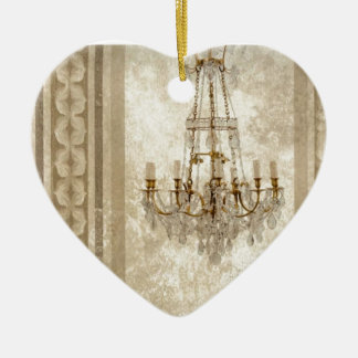Rustikale Leuchter-Westernland-Cowboystiefel Keramik Herz-Ornament