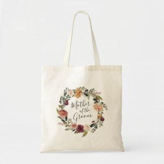 Rustikale Mutter der Blüten-| des Bräutigams Tragetasche