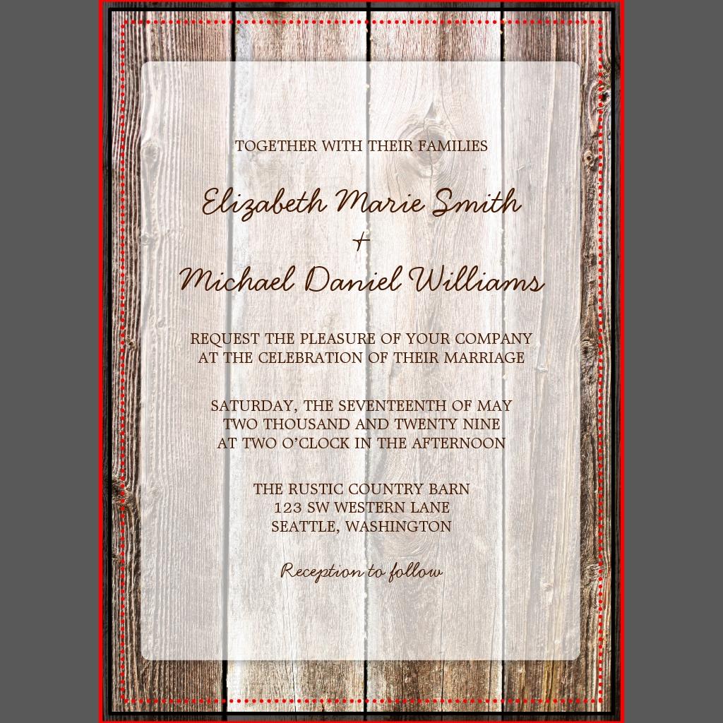 Themenorientierte Hochzeitseinladungen