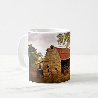 Rustikale Scheunen-Tasse Kaffeetasse