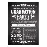 Rustikale Schiefer-Abschluss-Party Einladung