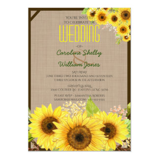 Einladungskarte Sonnenblume U2013 Sleepwells, Kreative Einladungen