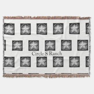Rustikale Texas Lonestar personalisierte Decke