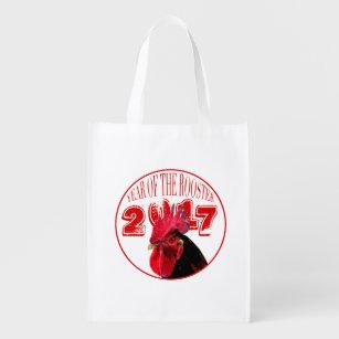 Rustikale wiederverwendbare Tasche 2 des Wiederverwendbare Einkaufstasche