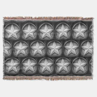 Rustikale Wurfs-Decke Texas Lonestar Decke