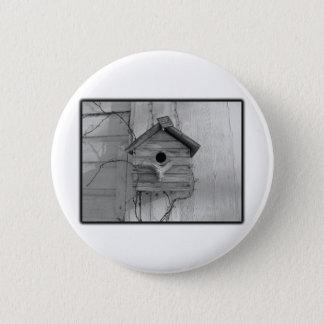 Rustikaler Birdhouse Runder Button 5,1 Cm