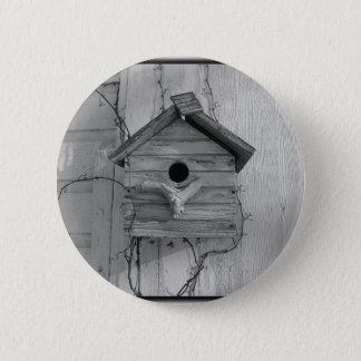 Rustikaler Birdhouse Runder Button 5,7 Cm