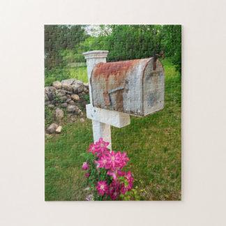 Rustikaler Briefkasten Vermont Puzzle