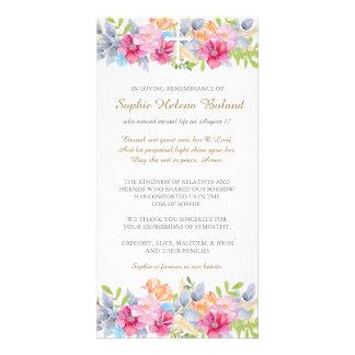 Rustikaler Garten-Begräbnis- Beileid danken Ihnen Karte