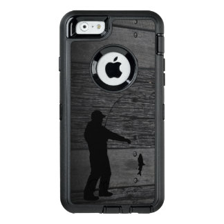 Rustikaler Mann-Fischen-Telefon-Kasten OtterBox iPhone 6/6s Hülle