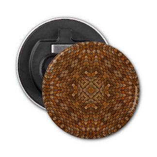 Rustikaler Skala-Kaleidoskop-magnetische Flaschenöffner