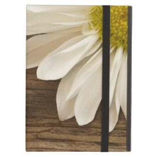 Rustikaler weißes Gänseblümchen Powis iCase iPad