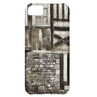 Rustikales altes Holz und Stein-Gebäude iPhone 5C Hülle