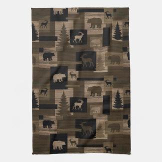 Rustikales Bärnelchbaum-Handtuch Handtuch