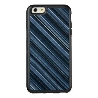 """Rustikales blaues"" Streifen-Muster OtterBox iPhone 6/6s Plus Hülle"