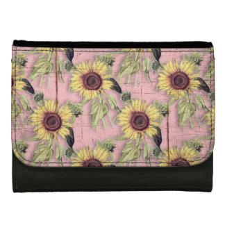 Rustikales Herbst-Sonnenblume-Muster