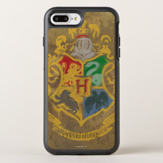 Rustikales Hogwarts Wappen Harry Potter | OtterBox Symmetry iPhone 7 Plus Hülle