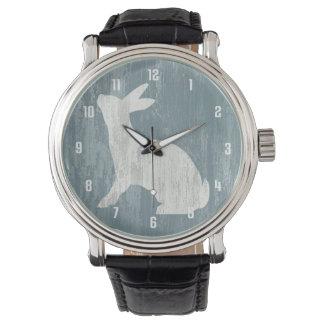 Rustikales Kaninchen Armbanduhr