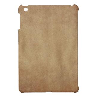 Rustikales Kunst-Apple iPad Browns abstraktes iPad Mini Hülle