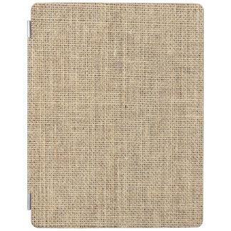 Rustikales Land-Vintage Leinwand iPad Hülle